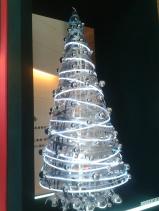 pohon natal penerima tamu