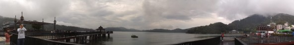 Panorama Sun Moon Lake Dermaga