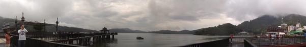 Panorama Sun Moon Lake Dermaga
