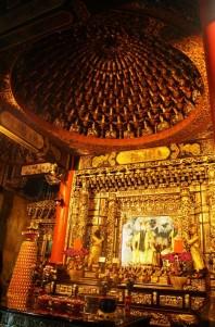 Altar bagian kedua untuk Kuan Yu